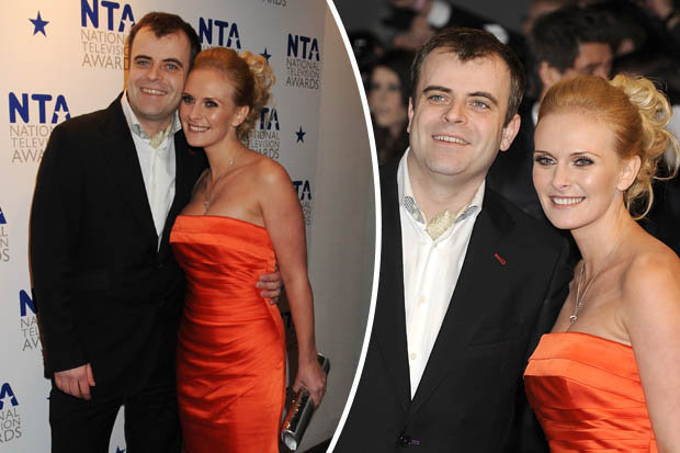 Simon Gregson and his wife Emma