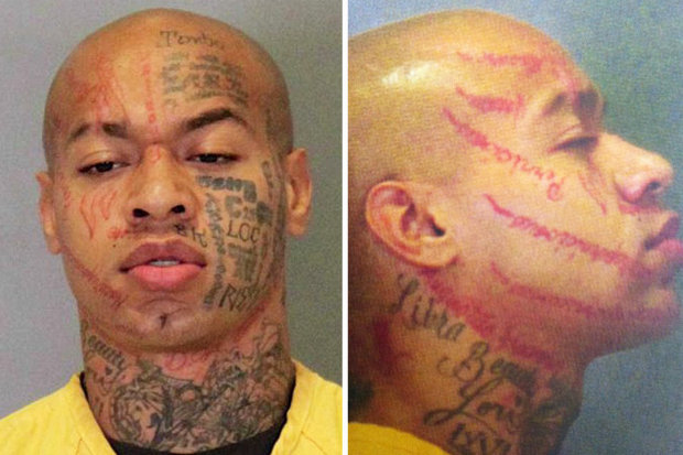 Scarmaesthetic mulatto serial killer Nikko Jenkins